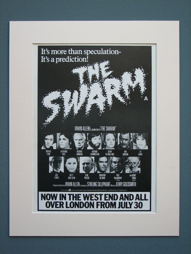 The Swarm 1978 Original advert (ref AD602)