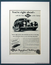Load image into Gallery viewer, Riley 1.5 Litre Saloon Set Of 2 Original Adverts 1954 (ref AD1211)