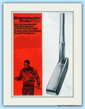 Load image into Gallery viewer, Greenmaster Putters. Original Advert 1968 (ref AD4987)