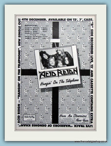 Acid Reign Hangin On The Telephone 1989 (ref AD3177)