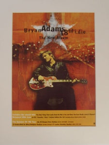 "Bryan Adams ""18 Til I Die"" original 1996 advert(AD5026K)"