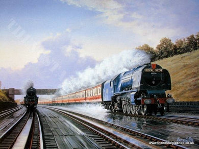 Royal Scot, Railway print (ref N42)
