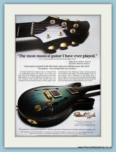 Patrick Eggle Guitars Original Advert 2002 (ref AD2752)