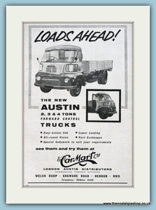 Austin Trucks Carmart Ltd Original Advert 1960 (ref AD2960)