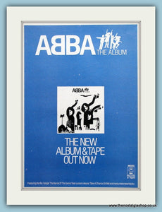 Abba The Album 1978 Original Advert (ref AD3186)