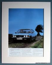 Load image into Gallery viewer, BMW 732i Classic Double Original Advert 1980. (ref AD1654)