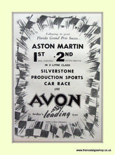Load image into Gallery viewer, Aston Martin Set Of 4 Original Adverts 1953/55/56 (ref AD6768)