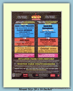 V99 Festival August 1999 Original Advert (ref AD9020)