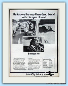 British Railways Set Of 3 Original Adverts 1972, 1979,1980 (ref AD6526)