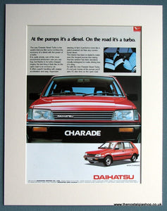 Daihatsu Charade 1985 Original Advert (ref AD1754)