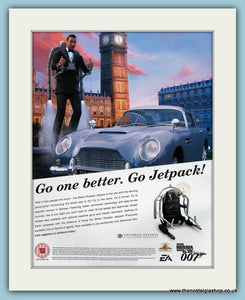 007 From Russia With Love Computer Game Original Advert 2005 (ref AD3963)