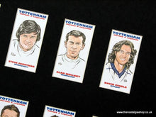 Load image into Gallery viewer, Tottenham Hotspur. Spurs Heroes and Legends. Mounted Football Card Set.