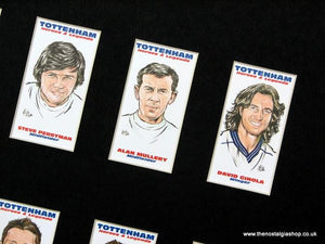 Tottenham Hotspur. Spurs Heroes and Legends. Mounted Football Card Set.