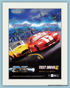 Test Drive 4 Computer Game Original Advert 1998 (ref AD4022)