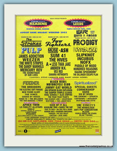 Carling Weekend Reading & Leeds Festival Advert 2002 (ref AD3378)