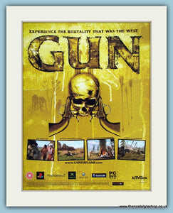 Gun Computer Game Original Advert 2006 (ref AD3985)