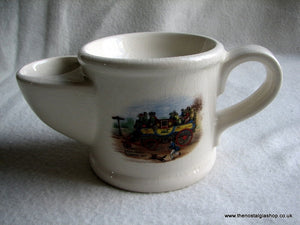 Wade Shaving Mug Steam Coach (ref Nos40)