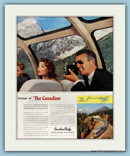 Load image into Gallery viewer, The Canadian Streamliner Double Original Advert 1957 (ref AD8238)