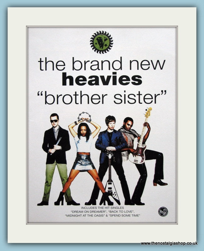The Brand New Heavies Brother Sister Original Music Advert 1994 (ref AD3417)