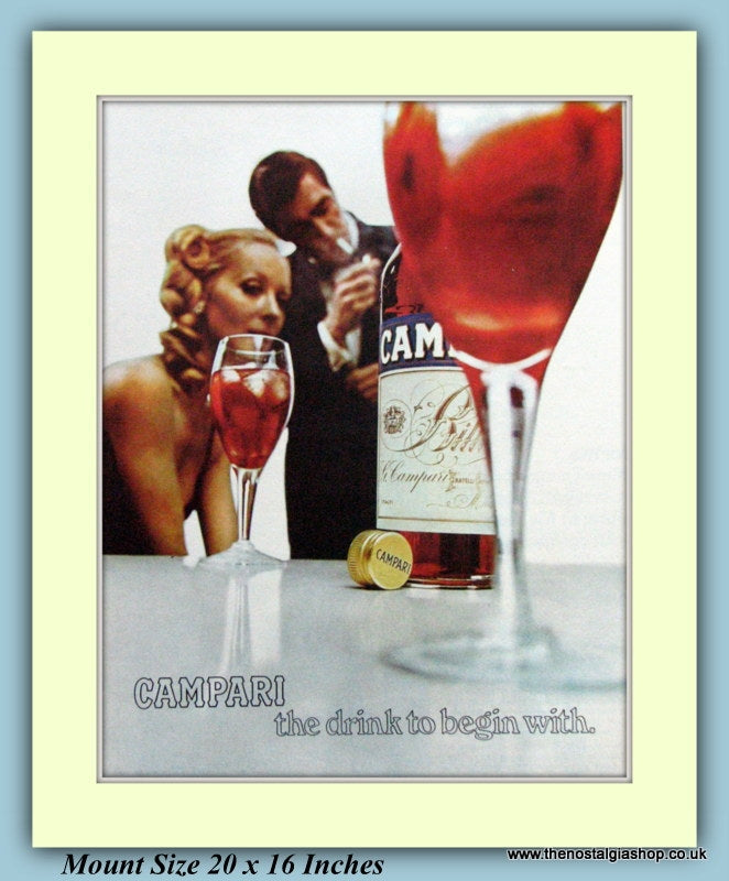 Campari Original Advert 1969 (ref AD9345)