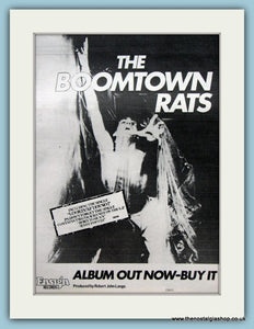 The Boomtown Rats Original Advert 1977 (ref AD2105)