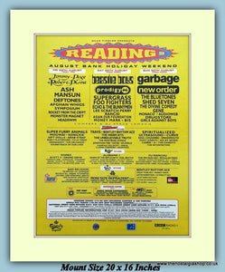 Reading Festival August 1998 Original Advert (ref AD9001)