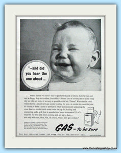 Gas Industry Original Advert 1955 (ref AD4872)