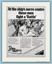 Load image into Gallery viewer, Royal Navy Destroyer. Set of 2 Original Adverts 1969 (ref AD6063)