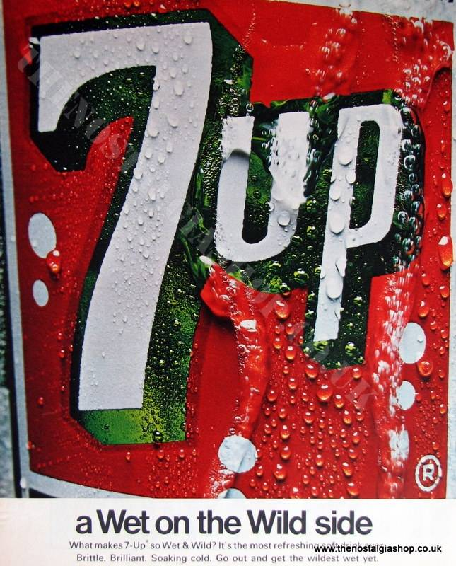 7 UP Original Advert 1967 (ref AD4031)