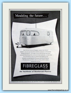 Willerby Caravan Fibreglass Original Advert 1956 (ref AD6348)