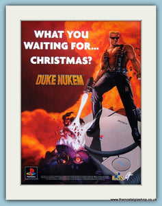 Duke Nukem, 1997 Original Advert (ref AD4026)