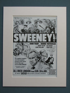 Sweeney 1977 Original advert (ref AD618)