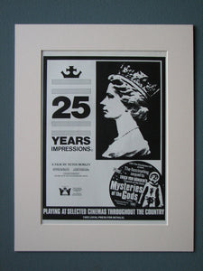 25 Years Impressions 1977 Original advert (ref AD514)