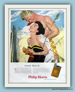 Philip Morris Cigarettes Original Advert 1958 (ref AD8140)