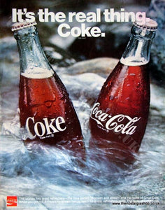 Coca -Cola 1970 Original Advert (ref AD4022)