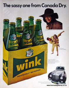 Wink By Canada Dry 1966 Original Advert (ref AD4020)