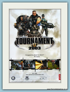 Unreal Tournament 2003 Original Advert (ref AD3975)