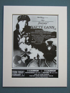 The Journey of Natty Gann 1985 Original advert (ref AD659)
