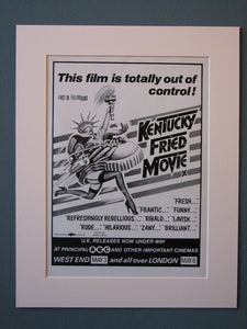 Kentucky Fried Movie 1979 Original advert (ref AD462)