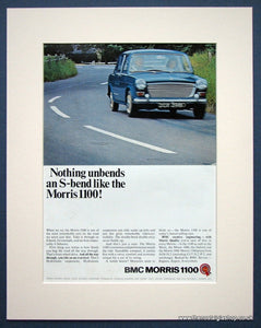 Morris 1100. Original advert 1966 (ref AD1348)
