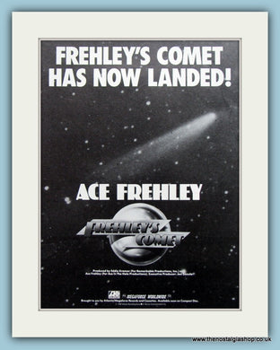 Ace Frehley Frehley's Comet 1987 Original Advert (ref AD3181)