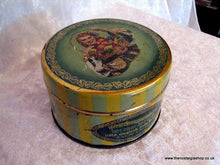 Load image into Gallery viewer, Wilkin's Greensleeves Fruit Bon Bons. Vintage Tin (ref nos052)