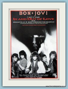 Bon Jovi, In And Out Of Love 1995 Original Advert (ref AD3279)