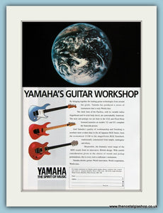 Yamaha's Guitar Workshop Original Advert 1990 (ref AD2206)