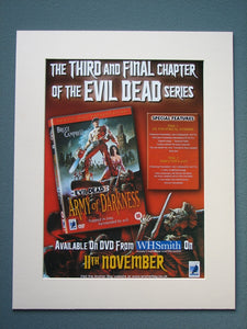 Army Of Darkness 2003 Original advert (ref AD795)