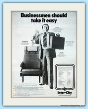 Load image into Gallery viewer, Inter-City Set of 2 Original Adverts 1976 & 1979 (ref AD6527)