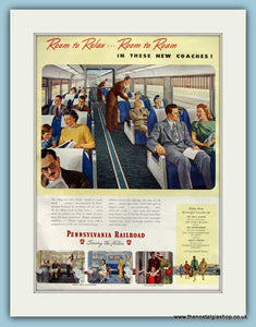 Pennsyvania Railroad Original Advert 1947 (ref AD8256)