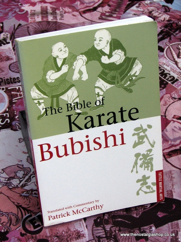 Karate Bubishi (The Bible of) Book. (ref B127)