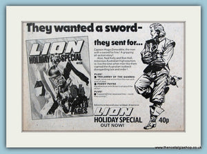 Lion Holiday Special Book Original Advert 1979 (ref AD6408)