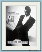 Load image into Gallery viewer, Bobby Brown Don't Be Cruel Set Of 2 Original Music Adverts 1988 (ref AD3454)